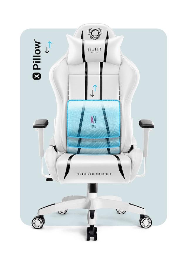 Gaming Stuhl Diablo X-One 2.0 Normal Size: Weiß