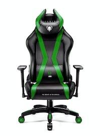 Scaun gaming Diablo X-Horn 2.0 Normal Size: Negru-verde Diablochairs