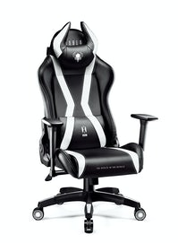 Gaming Stuhl Diablo X-Horn 2.0 Normal Size: Schwarz-Weiß