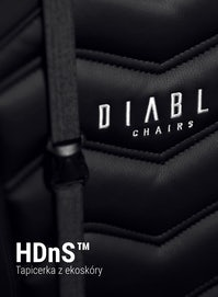 Scaun gaming Diablo X-Ray Normal Size: negru-gri Diablochairs