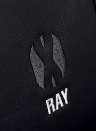 Herné kreslo Diablo X-Ray Normal Size: čierno-šedé Diablochairs