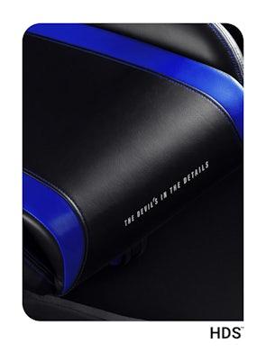 Herné kreslo Diablo X-Horn 2.0 Normal Size: Čierno-modré Diablochairs