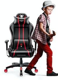 Dětská herní židle Diablo X-One 2.0 Kids Size: černo-červene Diablochairs