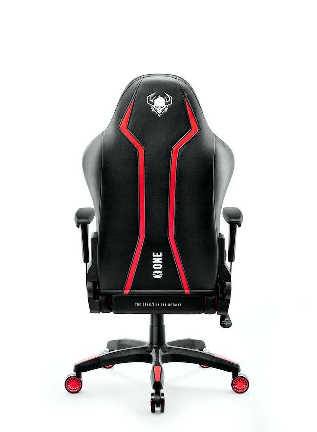 Fotel dziecięcy Diablo X-One 2.0 Kids Size: Czarno-czerwony