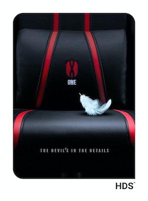 Kid's  Chair Diablo X-One 2.0 Kids Size: black-red