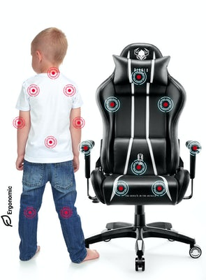 Kid's Chair Diablo X-One 2.0 Kids Size: black-white