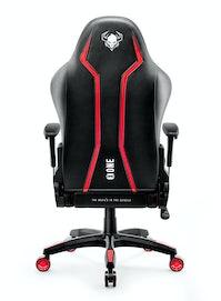 Scaun gaming Diablo X-One 2.0 King Size: negru-roșu Diablochairs