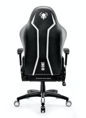 Fotel gamingowy Diablo X-One 2.0 King Size: Czarno-biały