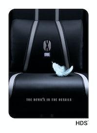 Herní židle Diablo X-One 2.0 King Size: černo-bílý Diablochairs