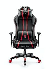 Gaming Stuhl Diablo X-One 2.0 Normal Size: Schwarz-Rot