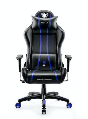 Herní židle Diablo X-One 2.0 Normal Size: černo-modrá Diablochairs