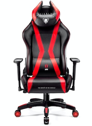Gaming Chair Diablo X-Horn 2.0 King Size: black-red