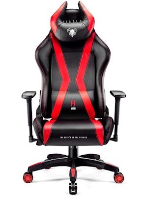 Herní židle Diablo X-Horn 2.0: King Size: černo-červené Diablochairs