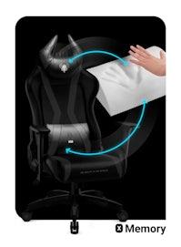 Fotel gamingowy Diablo X-Horn 2.0 King Size: Czarny