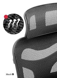 Fotel ergonomiczny DIABLO V-COMMANDER : czarno-czarny