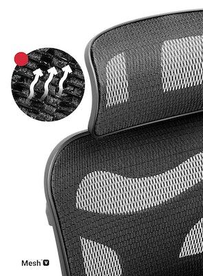 Kancelárska ergonomická stolička Diablo V-Commander čierna Diablochairs