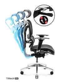 Scaun de birou Diablo V-Commander negru Diablochairs