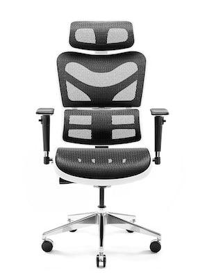 Ergonomic Chair DIABLO V-COMMANDER: white-black