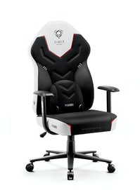 Gaming Stuhl Diablo X-Gamer 2.0 Normal Size: Schwarz-Weiß
