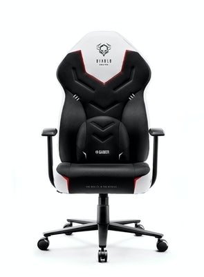 Gaming Stuhl Diablo X-Gamer 2.0 Normal Size: Schwarz-Weiß