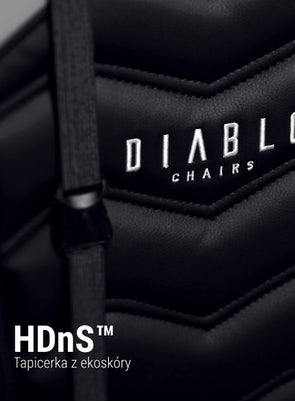 Herní židle Diablo X-Ray King Size: černo-šedá Diablochairs