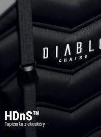 Scaun gaming Diablo X-Ray King Size: negru-gri Diablochairs