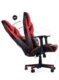 Fotel gamingowy Diablo X-Fighter Normal Size: Czarno-czerwony