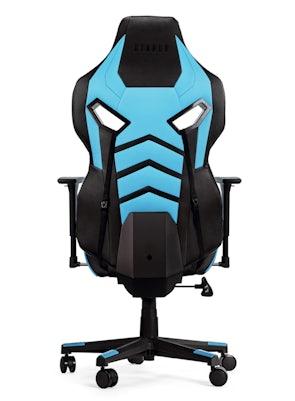 Herné kreslo Diablo X-Fighter Normal Size: čierno-modré Diablochairs