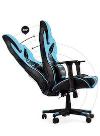 Fotel gamingowy Diablo X-Fighter Normal Size: Czarno-niebieski