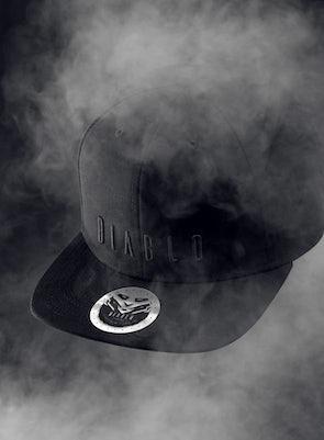 Snapback Diablo Chairs czapka z daszkiem: czarna