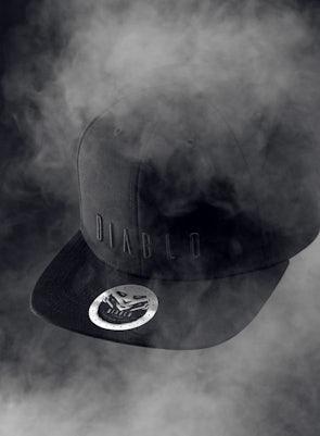 Kšiltovka Diablo Chairs: černé