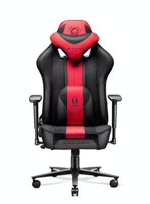 Gaming Chair Diablo X-Player 2.0 Textile Normal Size: crimson-anthracite