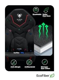 Herné křeslo Diablo X-Gamer 2.0 Normal Size: čierné Diablochairs
