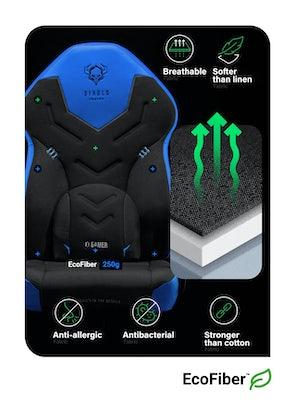 Gaming Stuhl Diablo X-Gamer 2.0 Normal Size: Blau