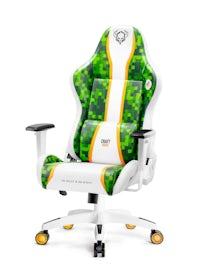 Diablo X-One Craft gamer szék Normal Size: Fehér-zöld Diablochairs