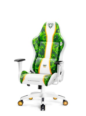 Dětská herní židle Diablo X-One Craft Kids Size: Bílo-zelená Diablochairs