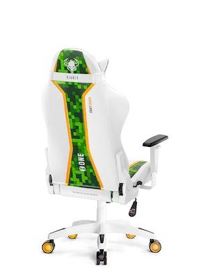 Scaun de gaming Diablo X-One Craft Kids Size: Alb-verde Diablochairs