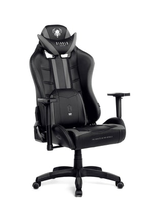 Gaming Stuhl Diablo X-Ray Normal Size: Schwarz-Grau