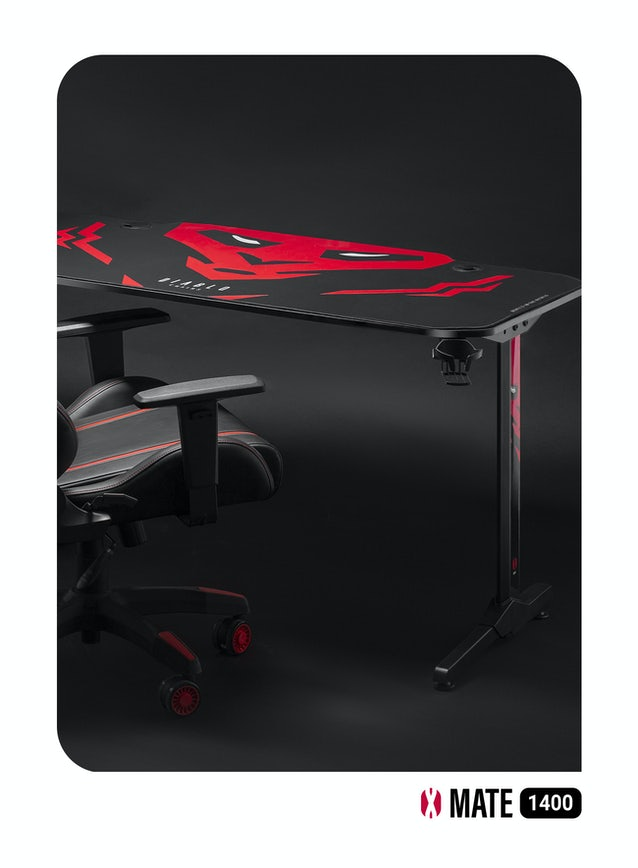 Diablo X-Mate 1400 gamer asztal Diablochairs
