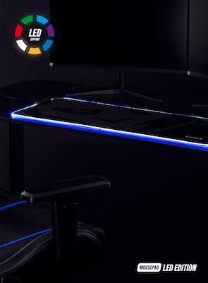 Gaming Mauspad Diablo Chairs LED EDITION
