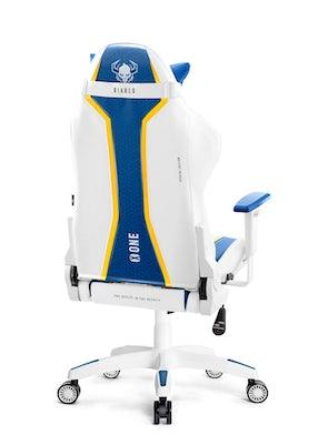 Scaun de gaming Diablo X-One Normal Size: Aqua Blue / Albastru Diablochairs