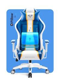 Herné kreslo Diablo X-One Normal Size: Aqua Blue / Modrá Diablochairs