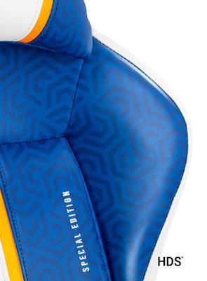 Dětská otočná herní židle Diablo X-One 2.0 Kids Size: Aqua blue / Modrá Diablochairs