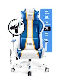 Fotel dziecięcy Diablo X-One 2.0 Kids Size: Aqua Blue