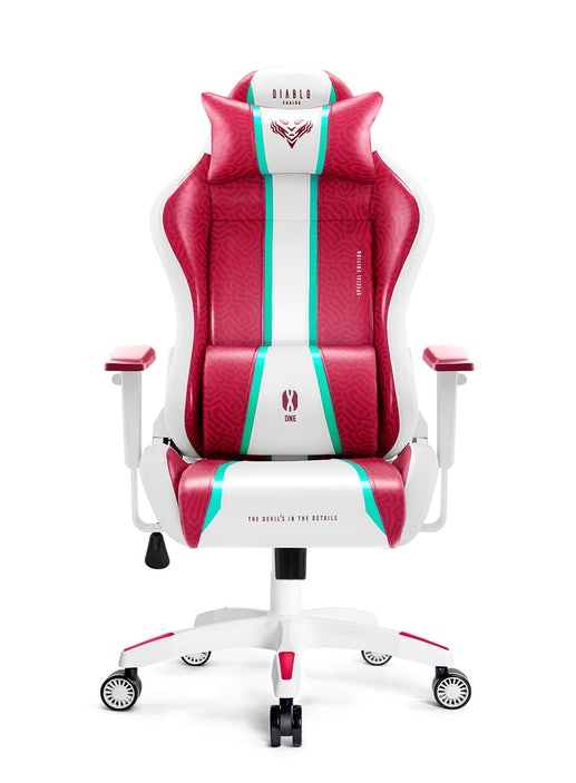 Fotel gamingowy Diablo X-One 2.0 Normal Size: Candy Rose