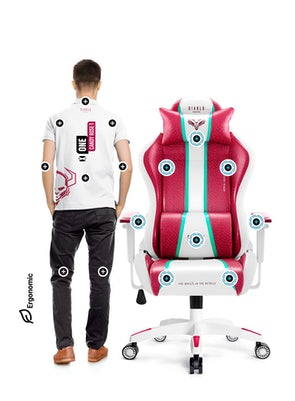 Gaming Stuhl Diablo X-One 2.0 Normal Size: Candy Rose