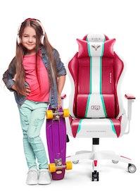 Kinder Schreibtischstuhl Diablo X-One Kids Size: Candy Rose