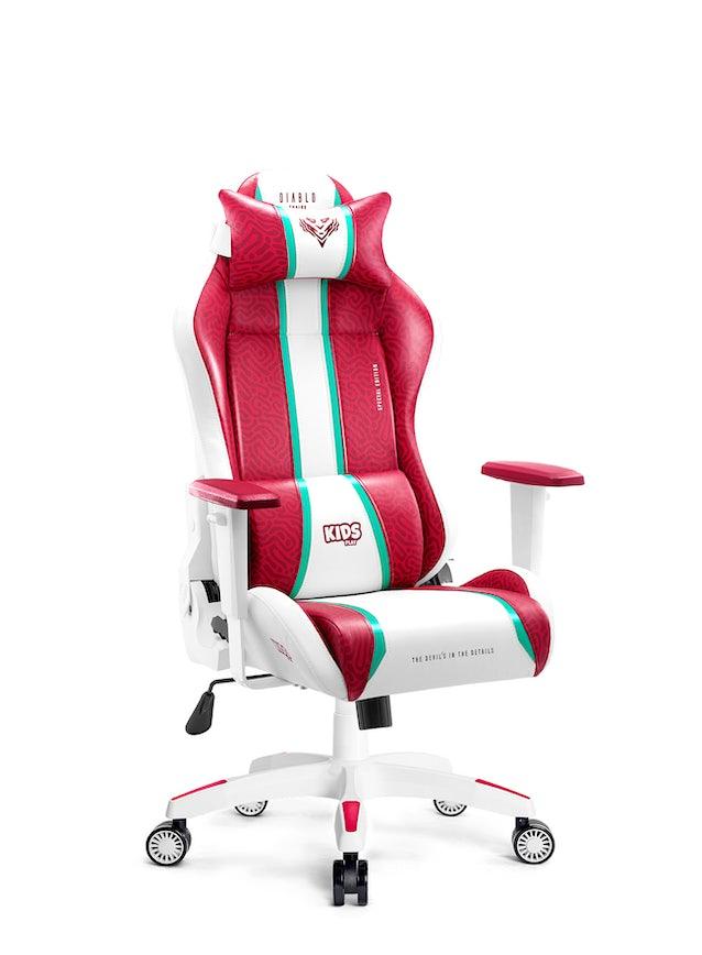 Dětská herní židle Diablo X-One 2.0 Kids Size: Candy Rose / Růžová Diablochairs