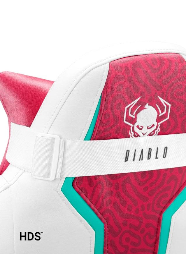 Detské otočné herné kreslo Diablo X-One 2.0 Kids Size: Candy Rose / Ružové Diablochairs