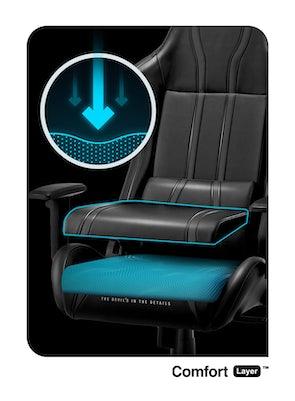 Gaming Chair Diablo X-One 2.0 Normal Size: black-black